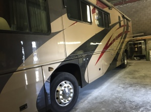 Tradewinds Excellent RV Body and Paint Restored at Almaden RV in San Jose, CA