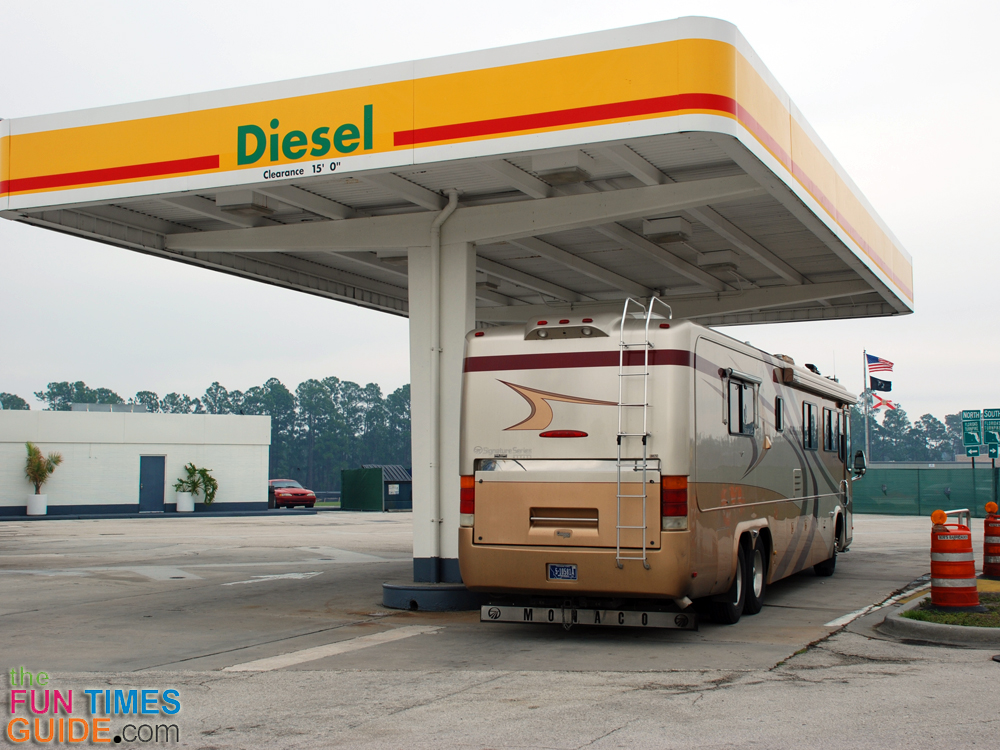 RV fuel choices by Almaden RV to get the best fuel economy