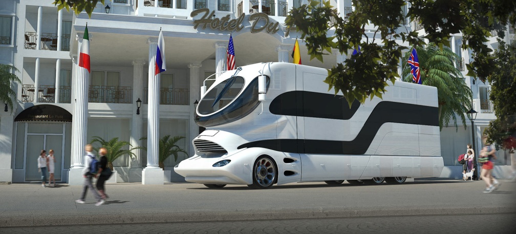 The Luxury RVs are in full trend and can be customized as per the choice