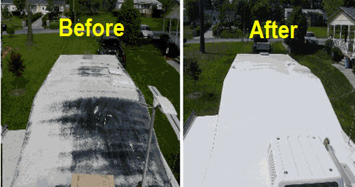 rv-roof-damage-repair-before-after