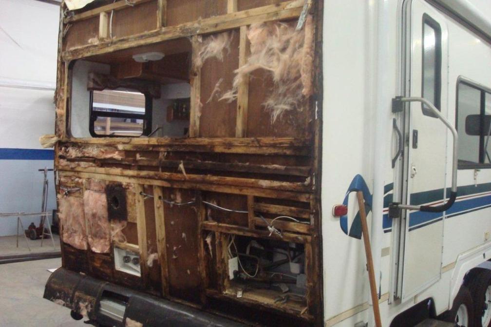 Water Damage Repair Almaden Rv Rv Repair