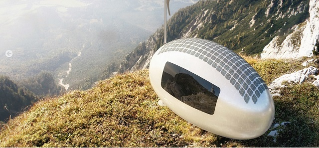 Travel in solitude in these pods, easy to maintain and transport like an RV